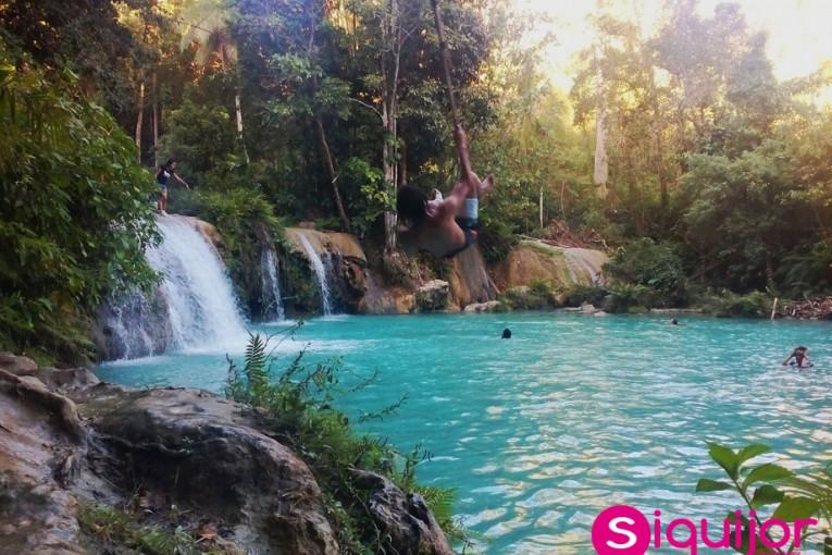 Cambugahay Falls, Lazi, Siquijor,   Photo Credits: Gwyn Tumulak Balolong, Web: http://www.siquijordirectory.com, Instagram: https://www.instagram.com/gwyntbalolong