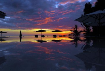 Experience Overlooking Ocean Sunset View @ Kawayan Holiday Resort !