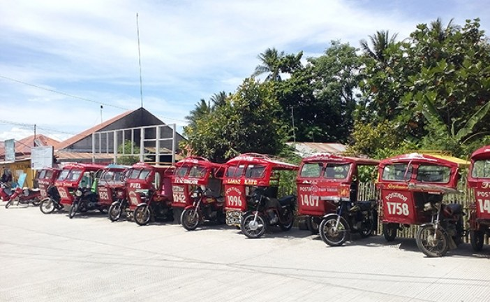 Province of Siquijor Tourism Accredited Drivers Association (POSTADA) Tariff Rates for Multicab, Van for Rent and Tricycle