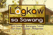 Lagkaw sa Sawang , an alternative budget house for rent in Siquijor Island, Philippines.