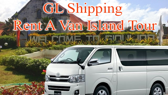 GL Shipping Rent A Van Island Tour in Siquijor