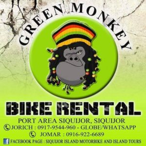 Green Monkey Siquijor and Larena Bike Rental and Car for Self Drivee
