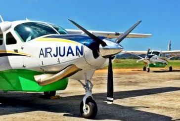 Fly with Air Juan from Cebu City To Siquijor and back for 40 minutes only !